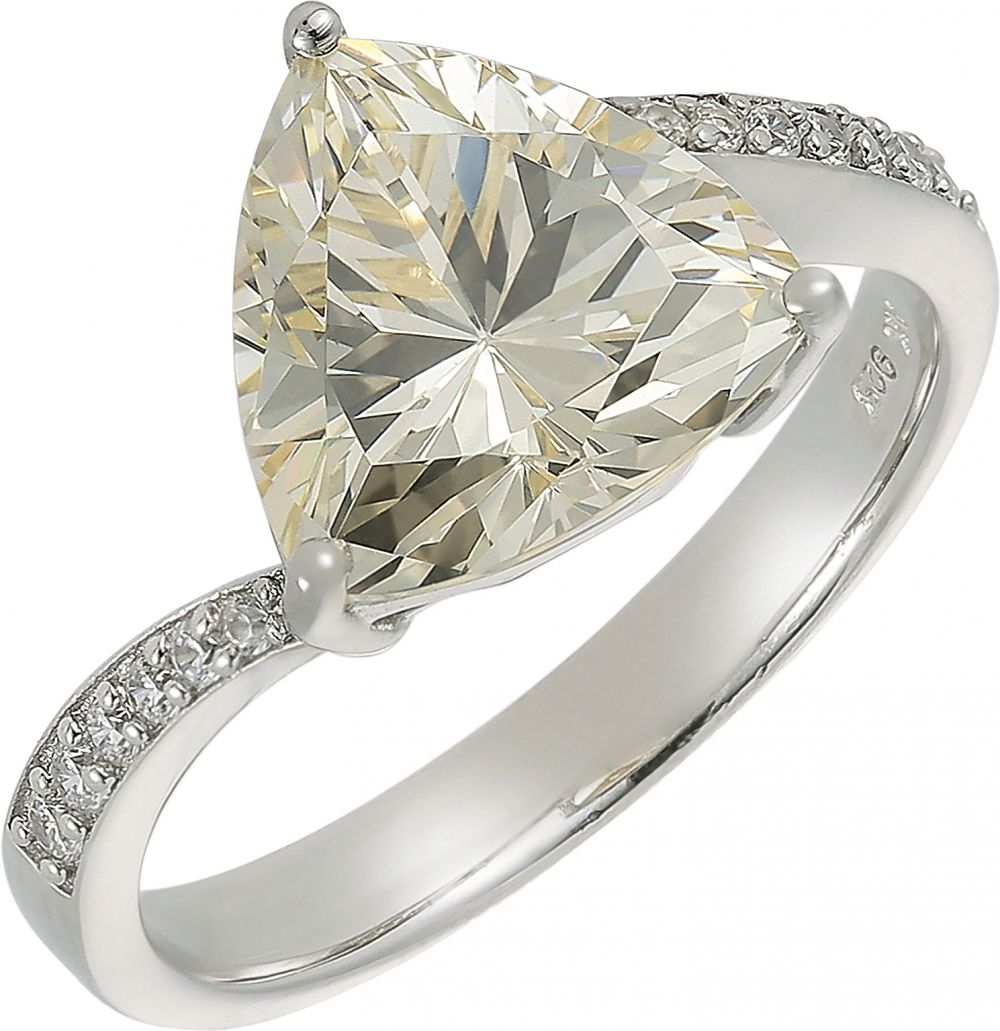925 Silver Solitaire Ring RG061